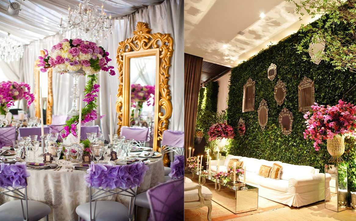 12 Super Trendy & Swanky Mirror Decor Ideas to Pick for Your Wedding