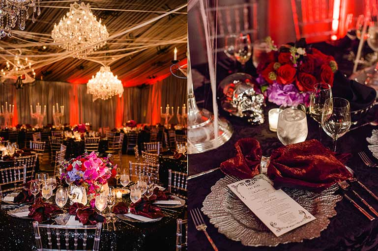 #TrendAlert: Cobweb Decor to Amp Your Cocktail & Reception Party