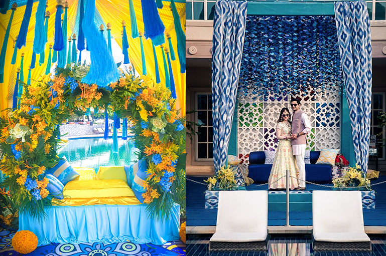 Classic Blue Color Theme Decor for the Picture-Perfect Wedding