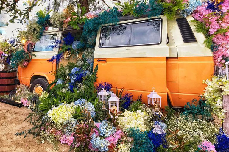 We spotted idiosyncratic & quirky decor ideas for 2020 wedding fever