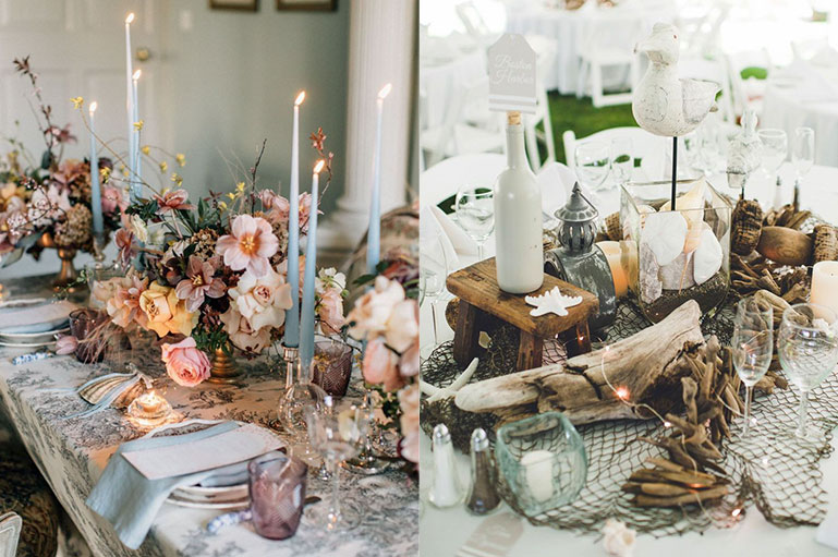Design your Wedding Tablescapes with perfection using these fabulous decor ideas