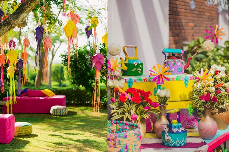 Quick & Easy-to-do Décor Ideas for your Mehndi & Nuptials