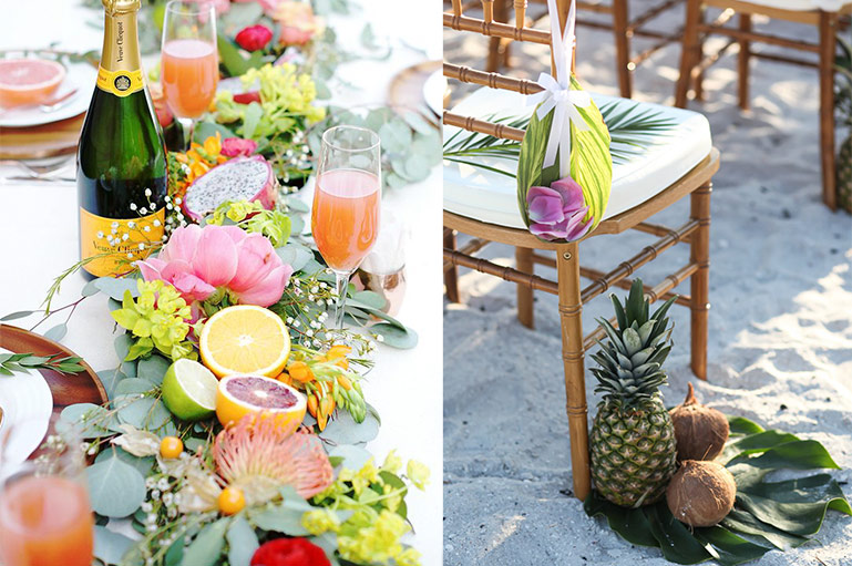 Uber Cool Fruit Decor Ideas for a Perfect Summer Wedding!