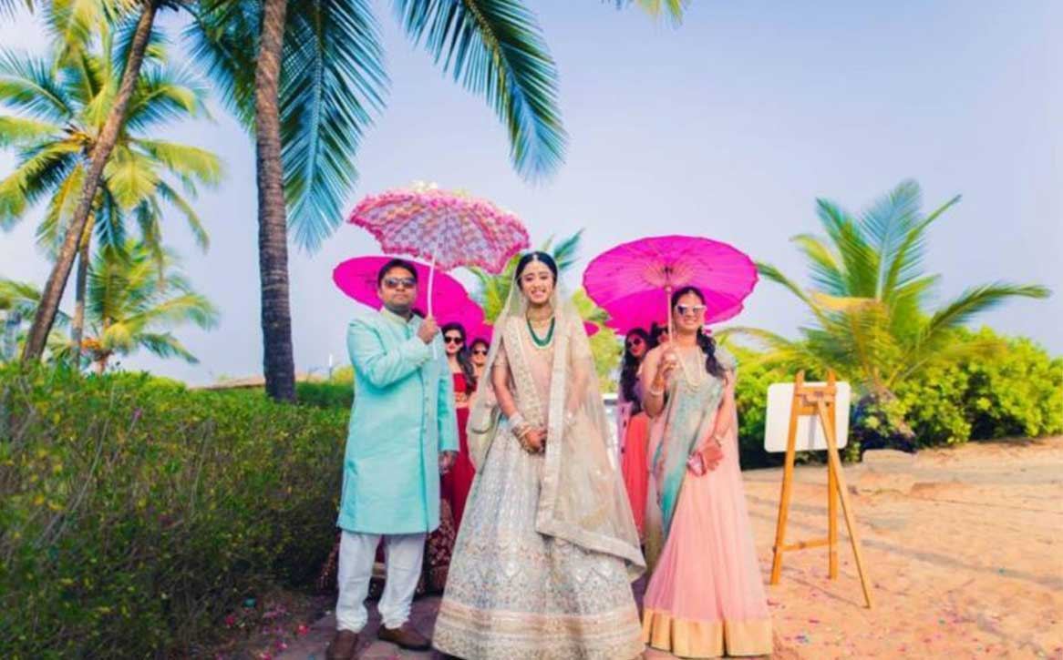 Umbrella Décor-For a Surreal & Mesmerizing Wedding Experience
