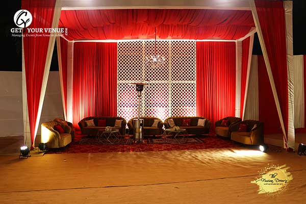 Traditional Red Wedding Theme