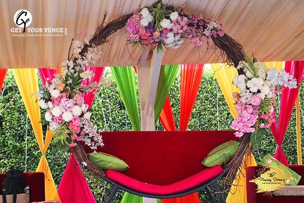 Multicolor Mehandi